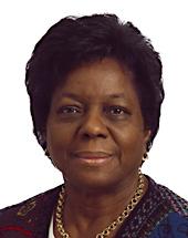 Madeleine Jouye de Grandmaison, députée européenne à l'Outre-mer
