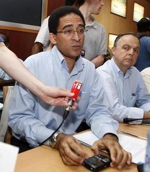 Willy Angele, président du Medef de la Guadeloupe, a prétexté des ''menaces physiques'' pour quitter la table des négociations