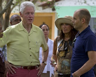 Bill Clinton � Ha�ti le 28 juin 2012