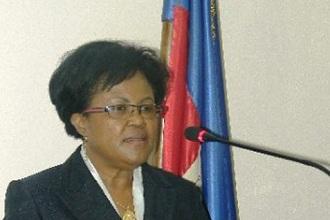 Marie Carmelle Jean-Marie, ministre des finances d'Haïti