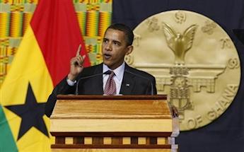 Discours devant les parlementaires ghanéens