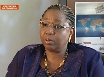 Le Dr Awa Marie Coll-Seck