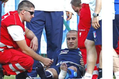 Cannavaro out, mais reste dans le groupe