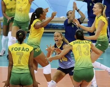 Les volleyeuses brésiliennes sacrées championnes olympiques