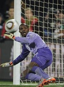 Le gardien ghanéen Kingson