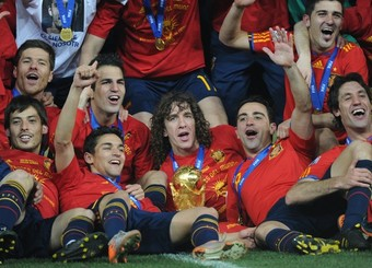 L'Espagne championne du monde 2010