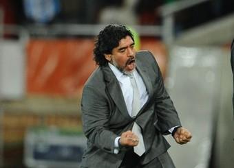 Le sélectionneur argentin Diego Maradona aura été l'une des attractions de cette coupe du monde