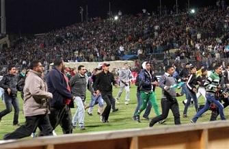 Les violences lors du match Al Masry / Al Alhy