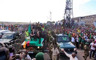 Les joueurs zambiens accueillis en véritables héros