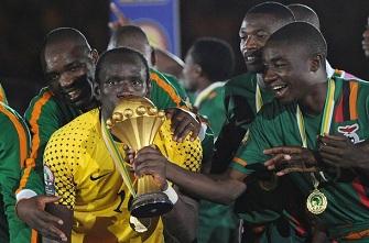 La Zambie sacrée lors de la CAN 2012