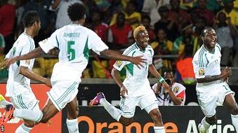 Les Super Eagles affronteront les �l�phants de C�te d'Ivoire en quarts de finale