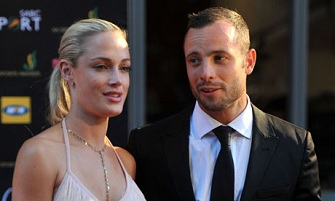 Oscar Pistorius et son ex-petite amie Reeva Steenkamp, tuée par balles