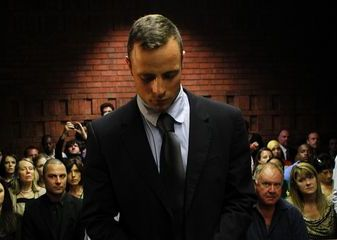 Oscar Pistorius lors de son procès