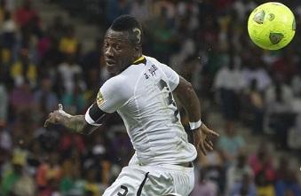 Asamoah Gyan et le Ghana joueront la coupe du monde au Brésil