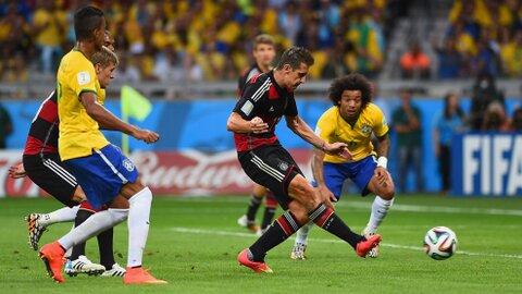 Miroslav Klose auteur du 2ème but allemand