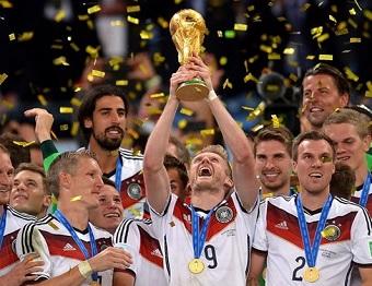 L'Allemagne sacrée championne du monde 2014