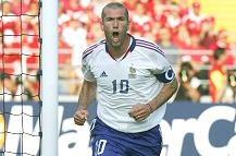 Zinedine Zidane, meneur de jeu emblématique de l'équipe de France