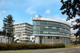 Le campus de l'Essec à Cergy