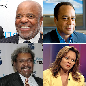 Berry Gordy, Quintin Primo, Janice Bryant Howroyd et Don King