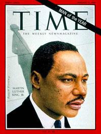 Homme de l'année par Time Magazine en 1963