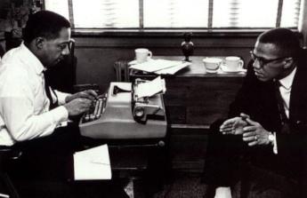 Alex Haley et Malcolm X