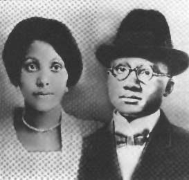 Louise et Earl Little, les parents de Malcolm X