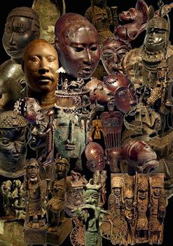 Des bronzes africains datant de plusieurs siècles