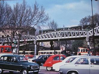 Paris dans les années 1970
