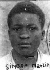 Martin Singap, chef d'état-major de l'Armée de libération nationale du Kamerun (ALNK), tué le 8 septembre 1961