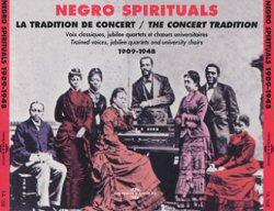 Orchestre de Negro spirituals. Début du 20ième siècle.