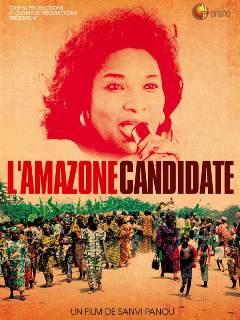 Affiche de l'amazone candidate