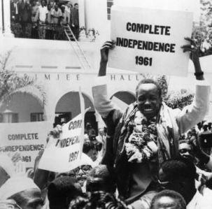 Le Tanganyika obtient son indépendance en 1961