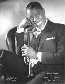 Louis Armstrong jeune