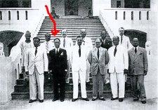 Kwame Nkrumah et son premier cabinet