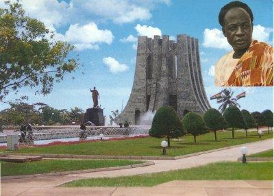 Monument érigé à la gloire de Kwame Nkrumah