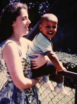 Ann Dunham et son fils Barack Obama