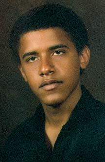 Barack Obama lycéen