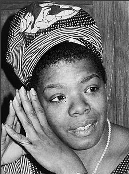Maya Angelou au début des années 70