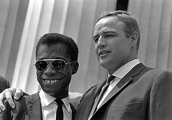 James Baldwin avec Marlon Brando