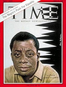 James Baldwin en couverture de ''Time'' magazine