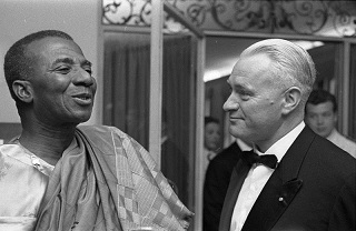 Sylvanus Olympio lors d'une visite à Munich en mai 1961