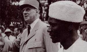 Sékou Touré et De Gaulle en 1958