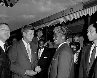 Sékou Touré et John Kennedy aux Etats-Unis au début des années 1960