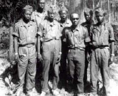 Amilcar Cabral et ses lieutenants de la lutte pour l'indépendance