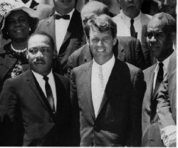 Martin Luther King et Robert Kennedy
