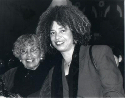 Angela Davis et sa m�re