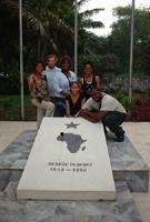 George Padmore est enterré à Accra au Ghana