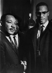Deux grandes figures de la lutte pour les droits des noirs