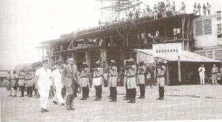 Roland Pré arrive au Cameroun
