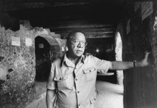 Alex Haley à Gorée